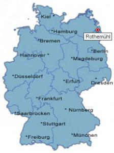 Lage Deutschland